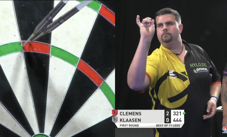 VIDEO: Gabriel Clemens Pins Another 9-Darter At Super Series 5