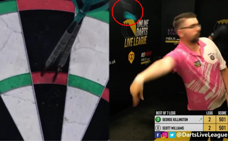 VIDEO: George Killington Hits A Blind 180 At Online Live League