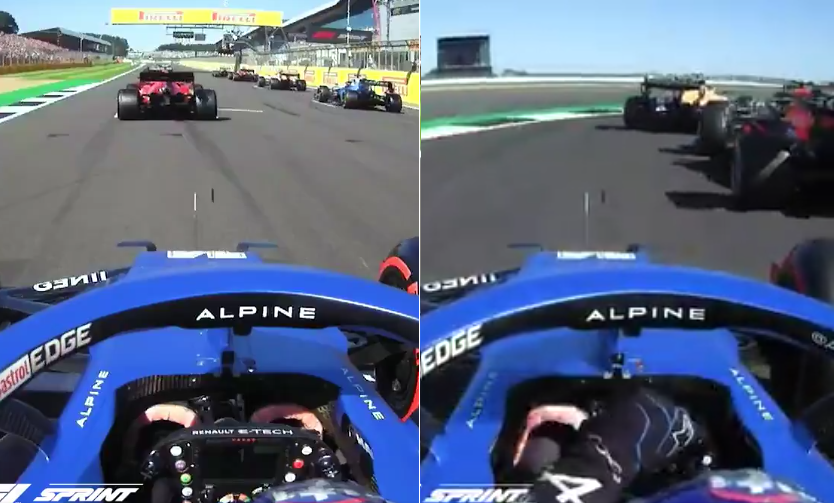 VIDEO: Fernando Alonso's Incredible Sprint Race Start From P11 To P5