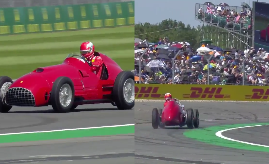 VIDEO: Charles Leclerc Racing Historic Ferrari 375 F1 at Silverstone
