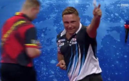 VIDEO: Gerwyn Price Imitates Dimitri van den Bergh's Dance Moves