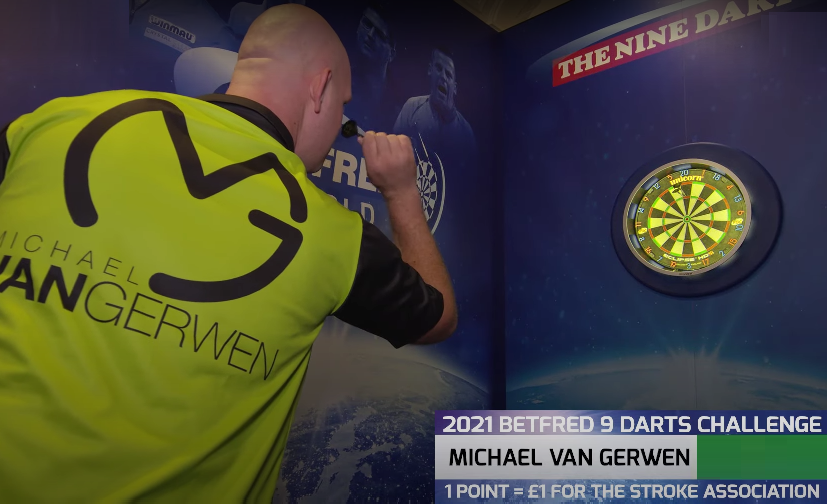 VIDEO: Michael van Gerwen & Gary Anderson Take On 9 Darts Challenge