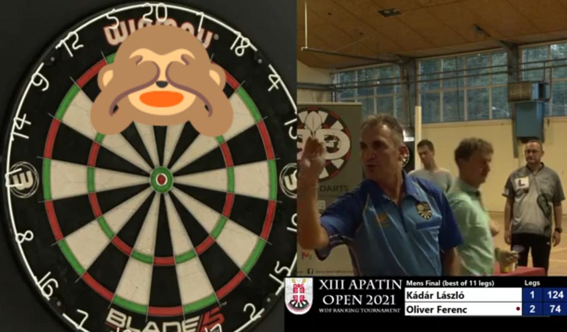 VIDEO: Kádár László Hits 124 Checkout You Have Never Seen Before