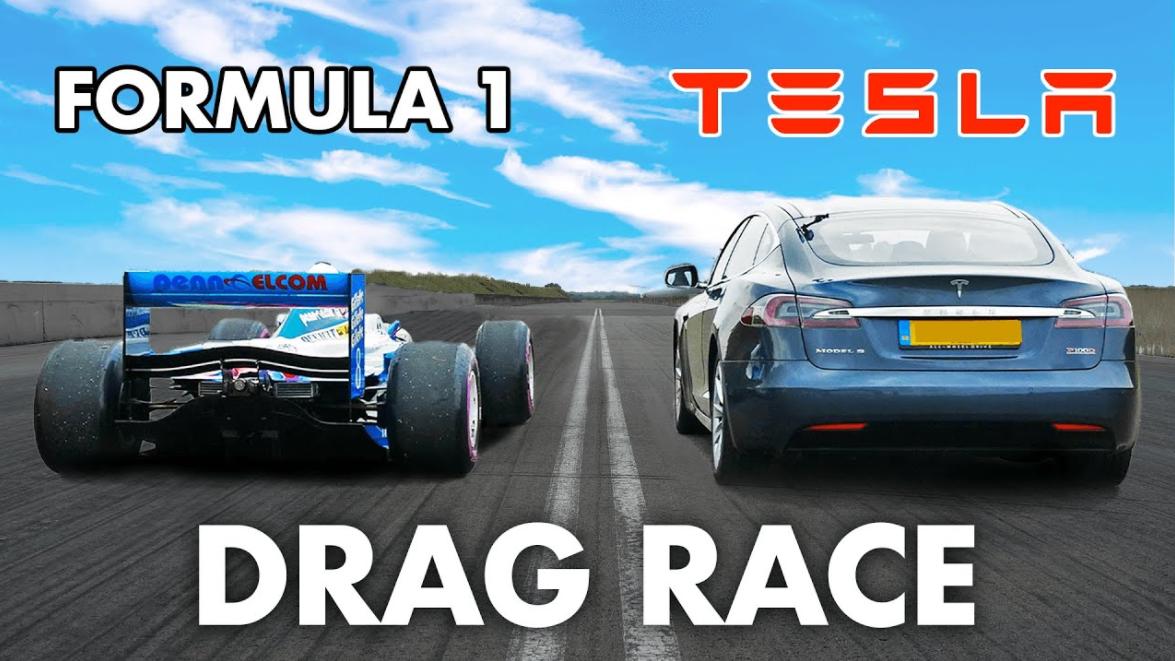 Who Is Fastest: Formula 1 vs Tesla