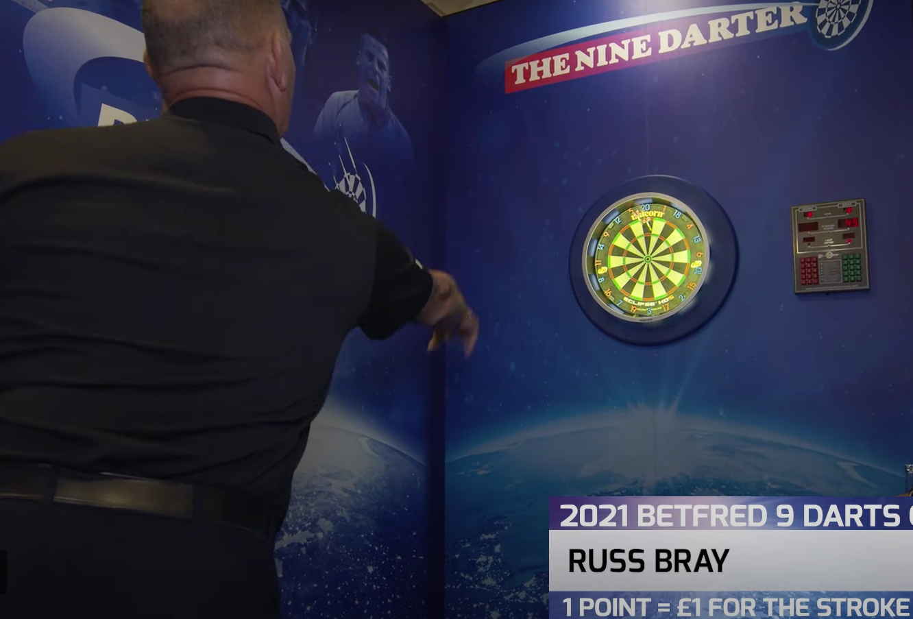 VIDEO: The PDC Referees Take On The 9 Darts Challange