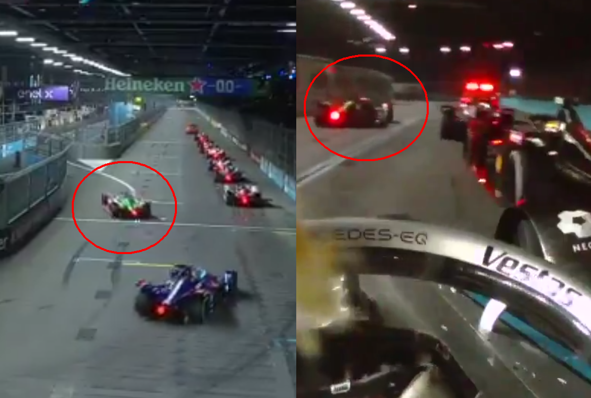 VIDEO: Lucas Di Grassi Overtaking 7 Cars With Bizarre Move Through Pitlane