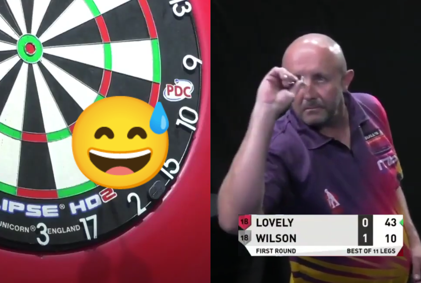 VIDEO: James Wilson Hits Bizarre Checkout At PDC Super Series 6