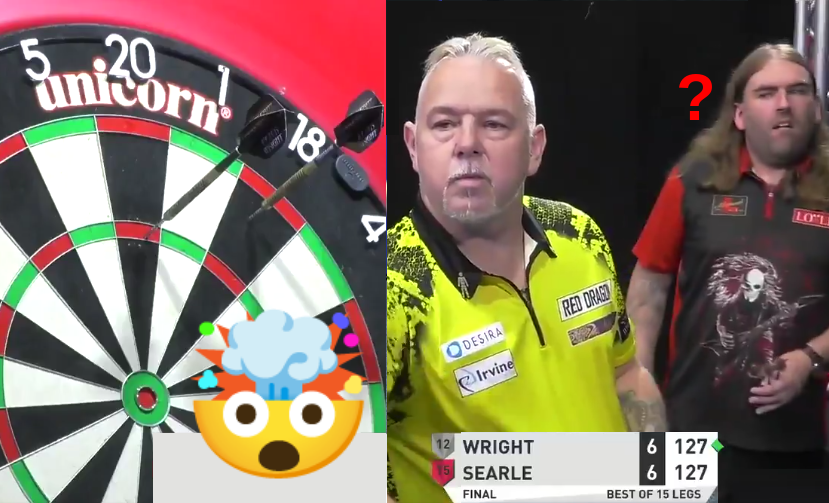 VIDEO: Peter Wright Telling Ryan Searle He Will Not Take Out 127 🤯