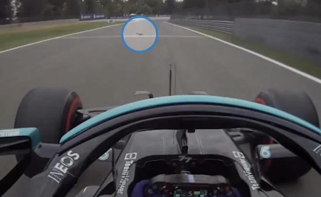 VIDEO: Valtteri Bottas Ran Over A Squirrel On His Way To Pole Lap