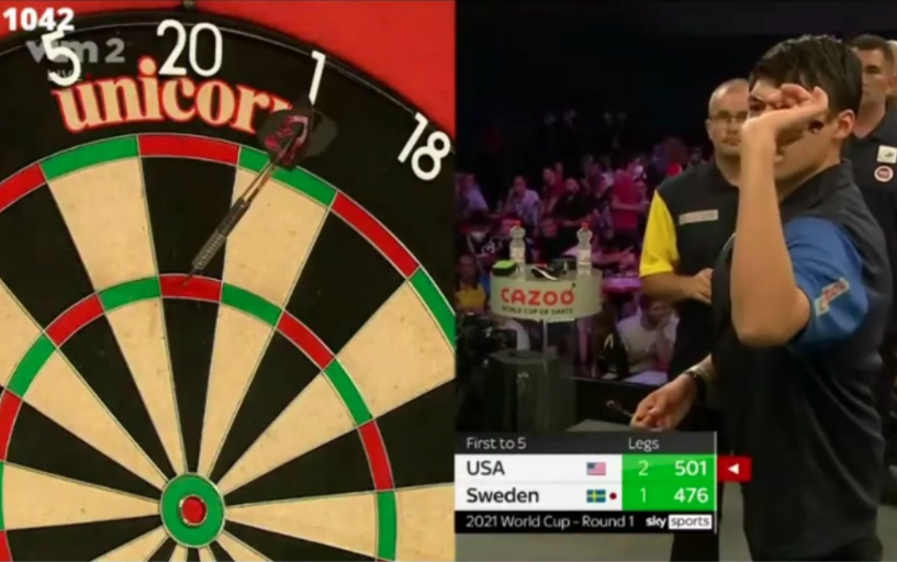 VIDEO: Danny Lauby Challenging Ricky Evans For Fastest 180 On Stage