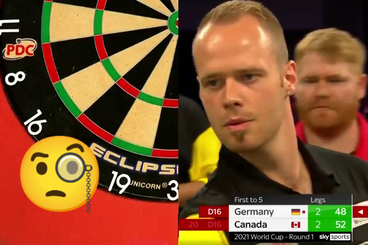 VIDEO: Max Hopp Missed The Board At World Cup of Darts 2021