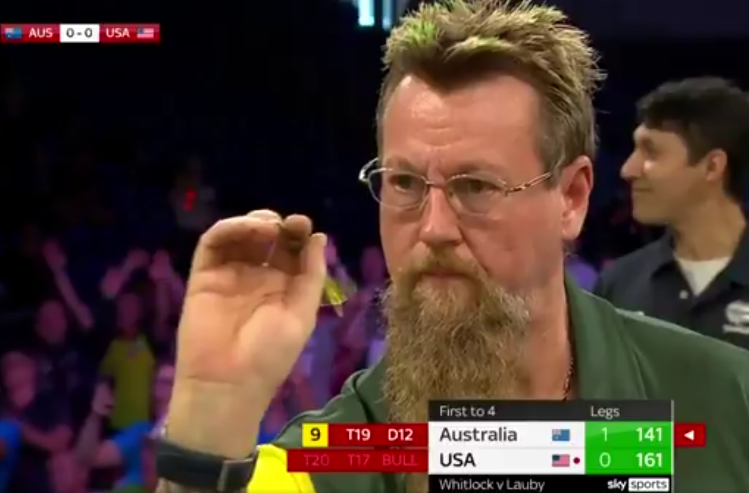 VIDEO: Australia's 9-Darter Attempt At World Cup of Darts 2021