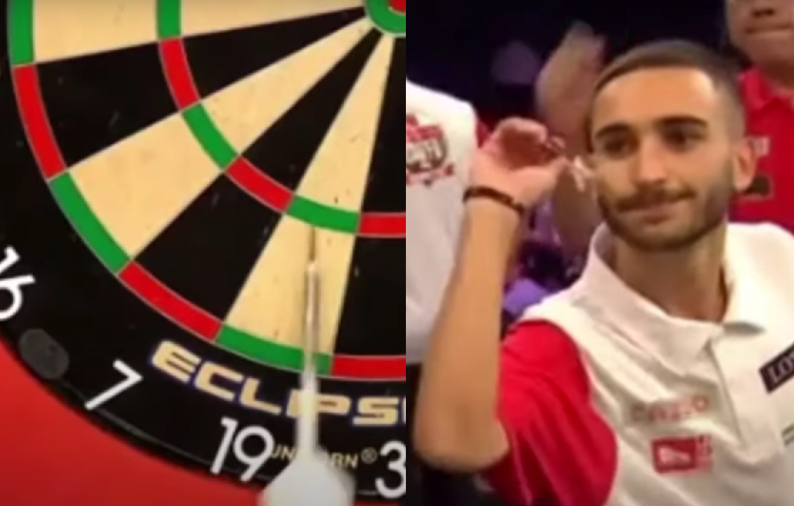 VIDEO: This Guy From Gibraltar Is Having 6 Bounce Outs In Six Legs