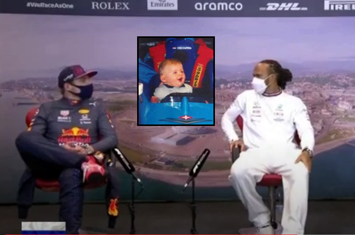 VIDEO: Funny Moment During Press Conference After Russian Grand Prix