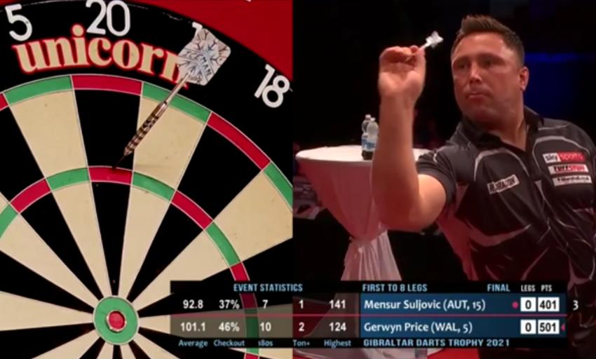 VIDEO: Bizarre Final Between Gerwyn Price & Mensur Suljovic