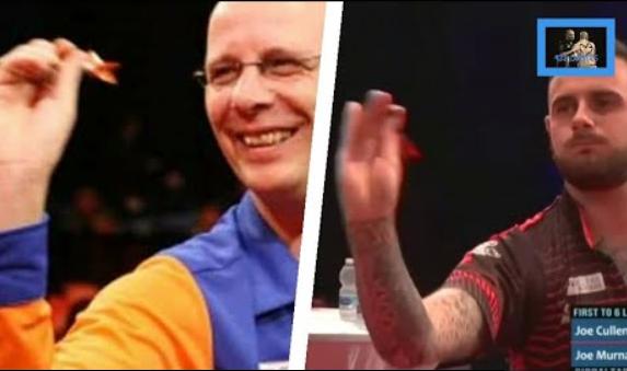 VIDEO: Joe Cullen Does His 'Co Stompé Imitation' At Gibraltar Darts Trophy
