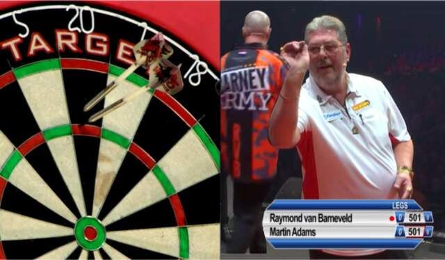 VIDEO: Van Barneveld Is Suspected Of Matchfixing In This Match With Martin Adams
