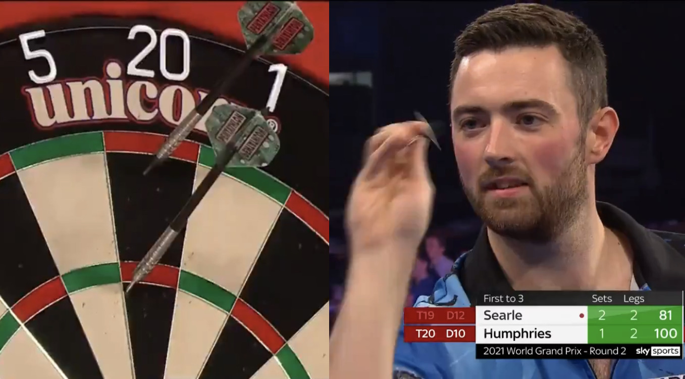 VIDEO: Painful Mistake By Luke Humphries At Crucial Moment